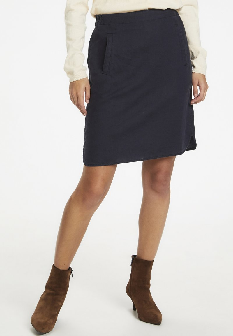 Part Two - RHAPSODYPW  - Mini skirt - dark navy