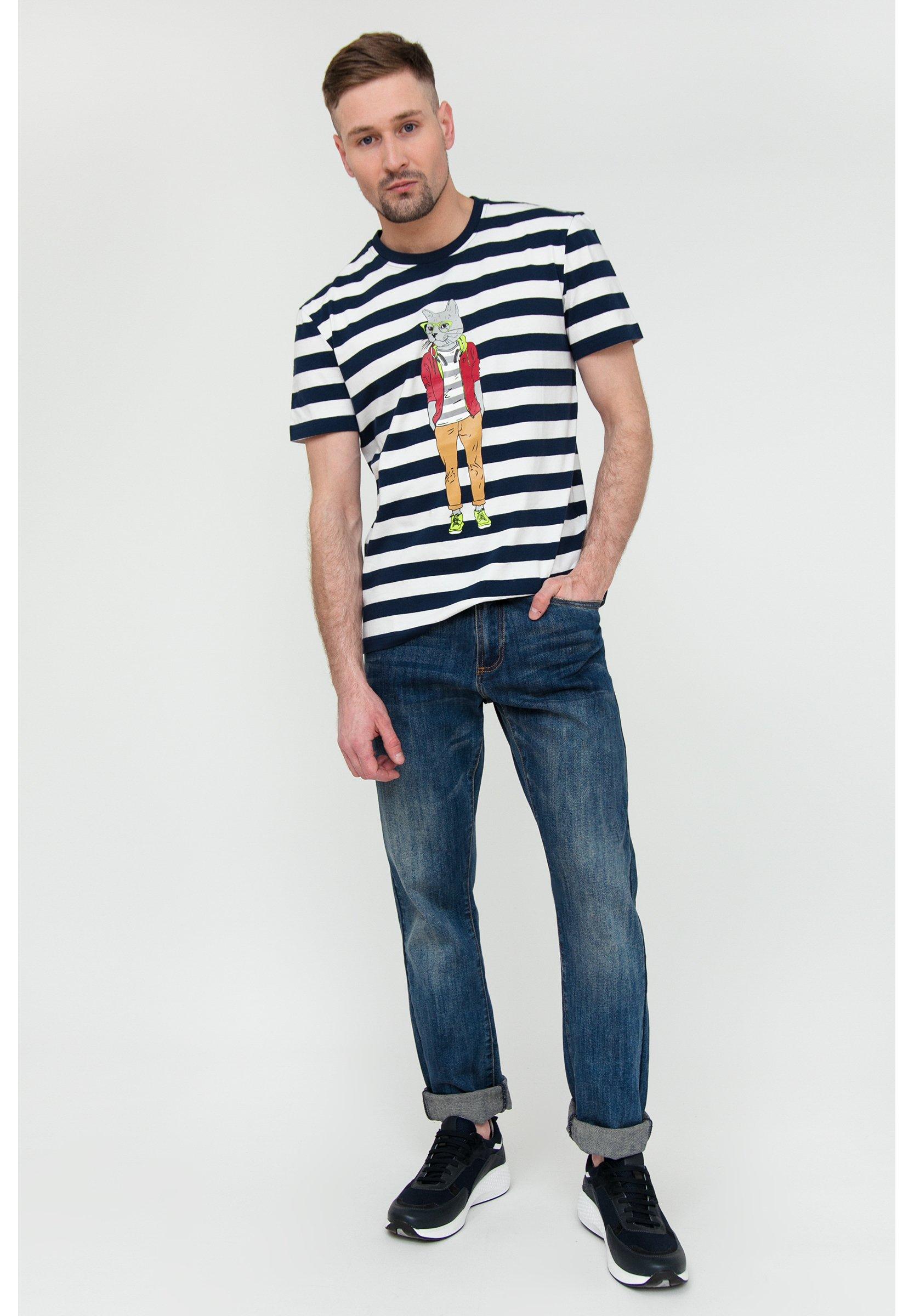 Homme MIT FRONT - T-shirt imprimé