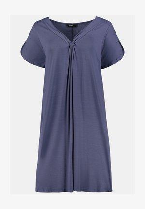 Jersey dress - schiefergrau