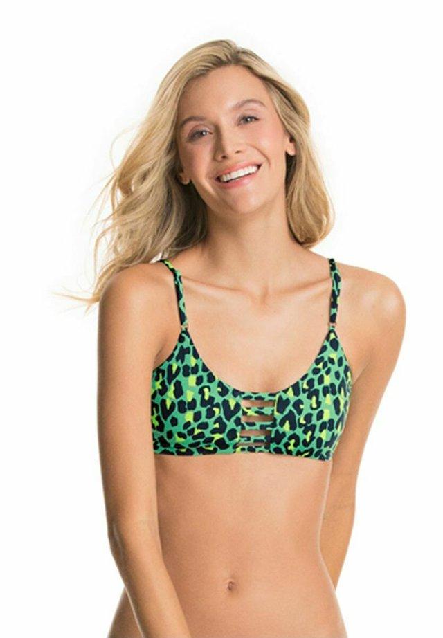 Góra od bikini - green
