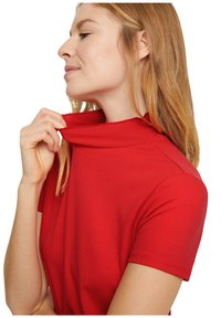 comma - Basic T-shirt - red - 4