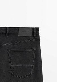 Massimo Dutti - Slim fit jeans - black - 3