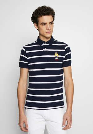Poloshirt - cruise navy/white