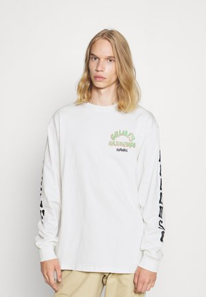 DESTROY ALL FEAR LONG SLEEVE TEE UNISEX - Print T-shirt - white