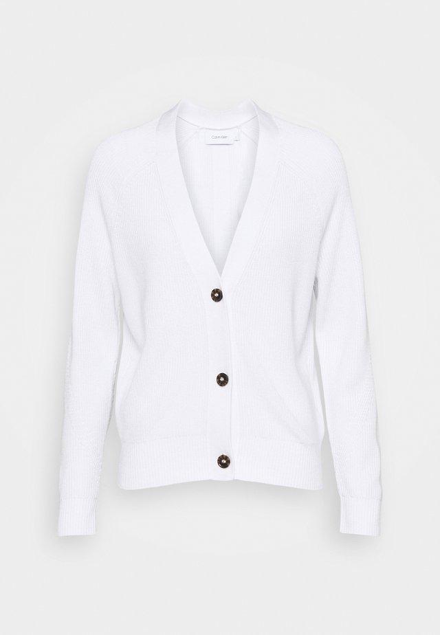 V NECK  - Vest - bright white