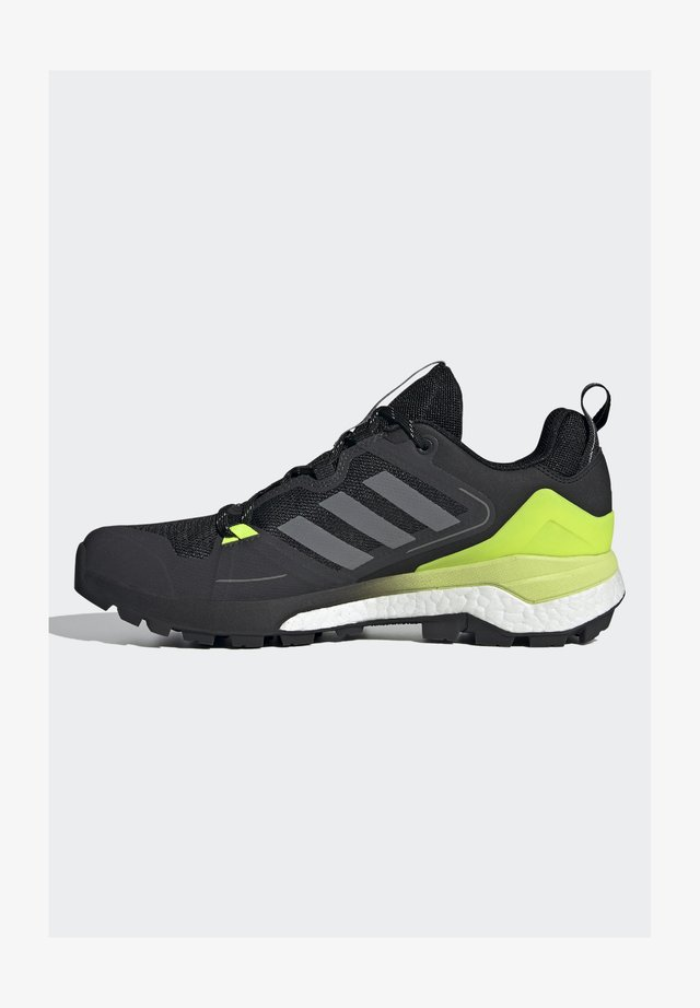DURAMO CLASSIC LIGHTMOTION RUNNING SHOES - Trekingové boty - core black/ftwr white/solar yellow