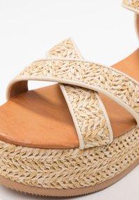 Tata Italia - Platform sandals - beige - 2