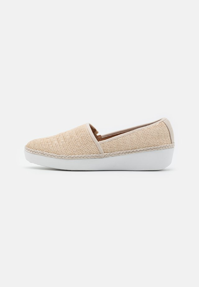 CASA LOAFERS - Slip-ons - stone
