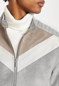 River Island - Faux leather jacket - grey - 3