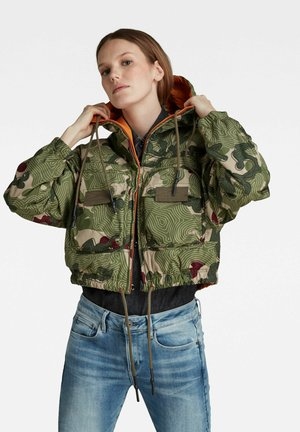 REVERSIBLE PRINTED  - Light jacket - hatton contour camo