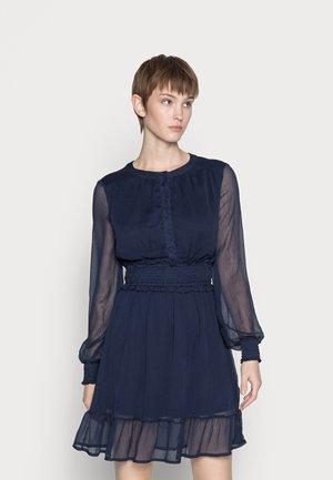 VMMADDY SMOCK SHORT DRESS VIP  - Day dress - navy blazer