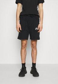 Nike Sportswear - AIR - Träningsbyxor - black/dark smoke grey/white - 0