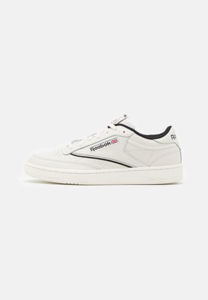 CLUB C 85 - Sneakers - chalk/black/silver metallic