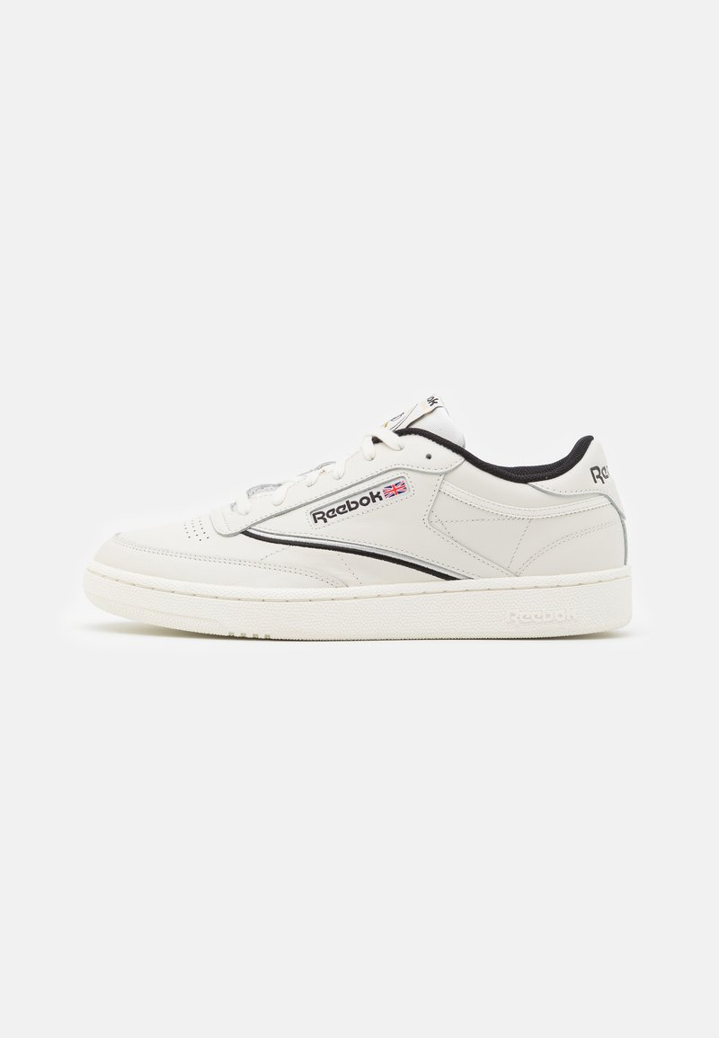 Reebok Classic - CLUB C 85 - Zapatillas - chalk/black/silver metallic
