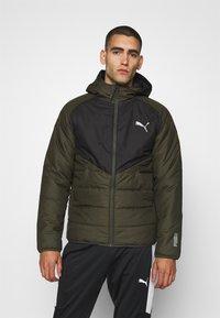 Puma - WARMCELL PADDED JACKET - Winter jacket - forest night - 0