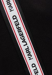 KARL LAGERFELD - KARL WEBBING SHOPPER - Tote bag - black - 6