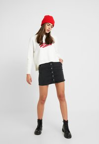 Roxy - EXCHANGE YOUR - Stickad tröja - snow white - 1