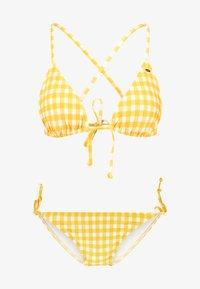 O'Neill - CAPRI BONDEY SET - Bikini - yellow/white - 5