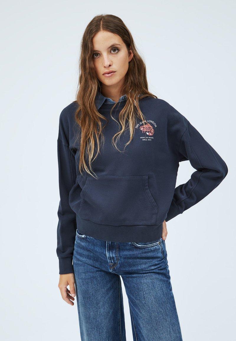 Pepe Jeans - MONA - Sweatshirt - dunkel ozaen blau