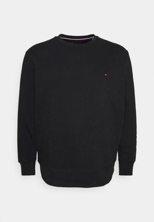 LOGO SLEEVE NECK - Sweatshirt - black
