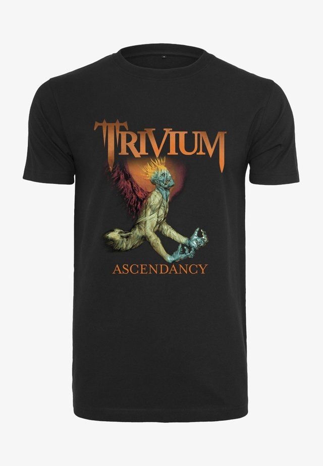 TRIVIUM ASCENDANCY TEE - Print T-shirt - black