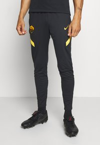 Nike Performance - AS ROM DRY PANT - Club wear - black/university gold/university gold - 0
