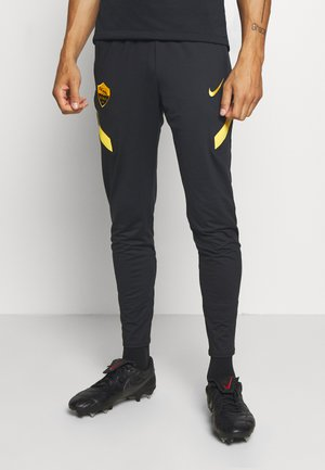 AS ROM DRY PANT - Club wear - black/university gold/university gold