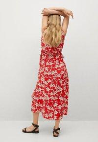 Mango - Day dress - rojo - 2