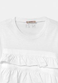 N°21 - MAGLIETTA UNISEX - Print T-shirt - white - 2