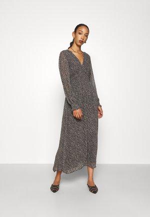 PEARL DRESS - Maxi dress - harvest black