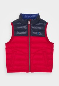 Polo Ralph Lauren - OUTERWEAR VEST - Vesta - red/newport navy - 0