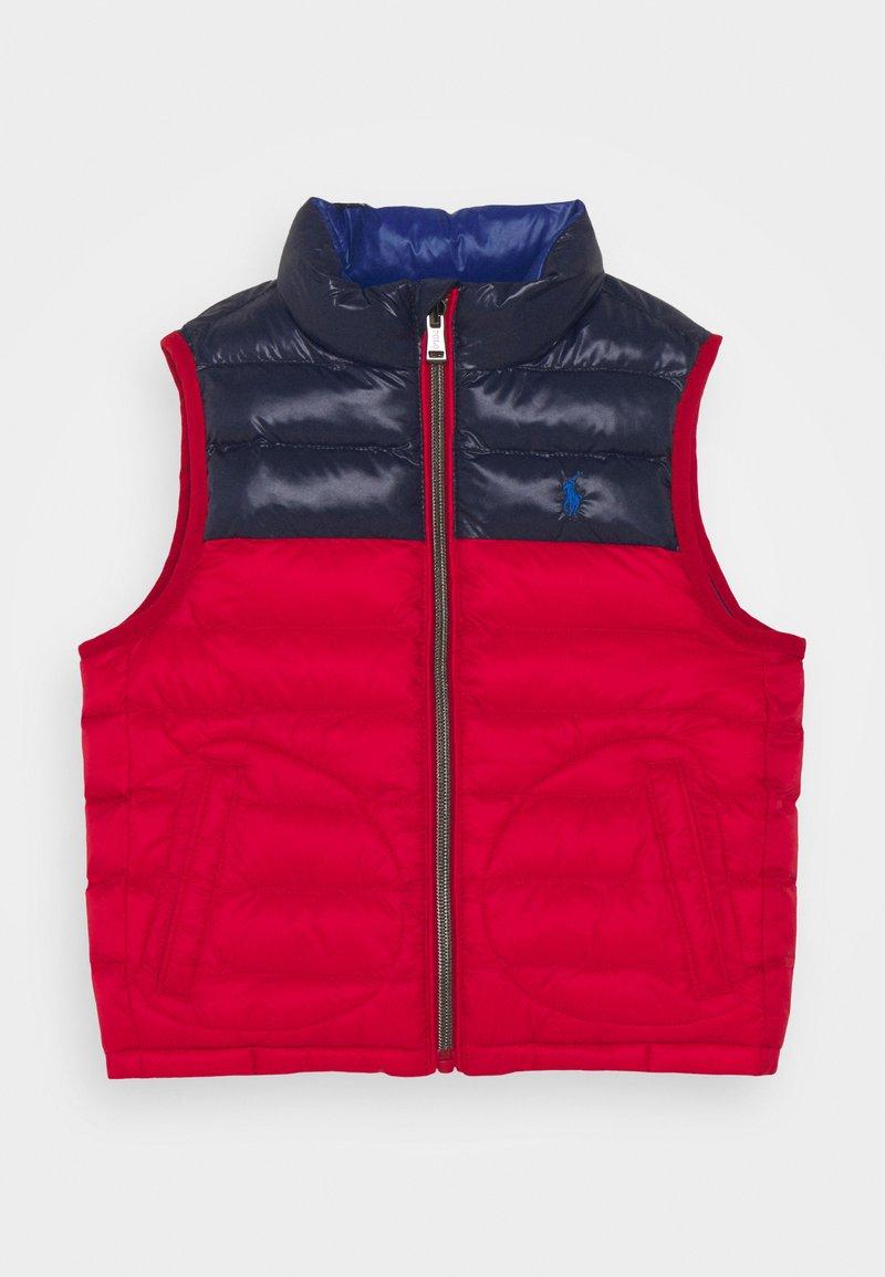Polo Ralph Lauren - OUTERWEAR VEST - Vesta - red/newport navy