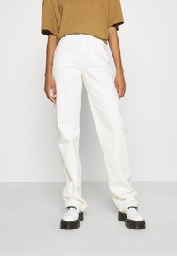 Weekday - ROWE  - Džíny Relaxed Fit - white - 0