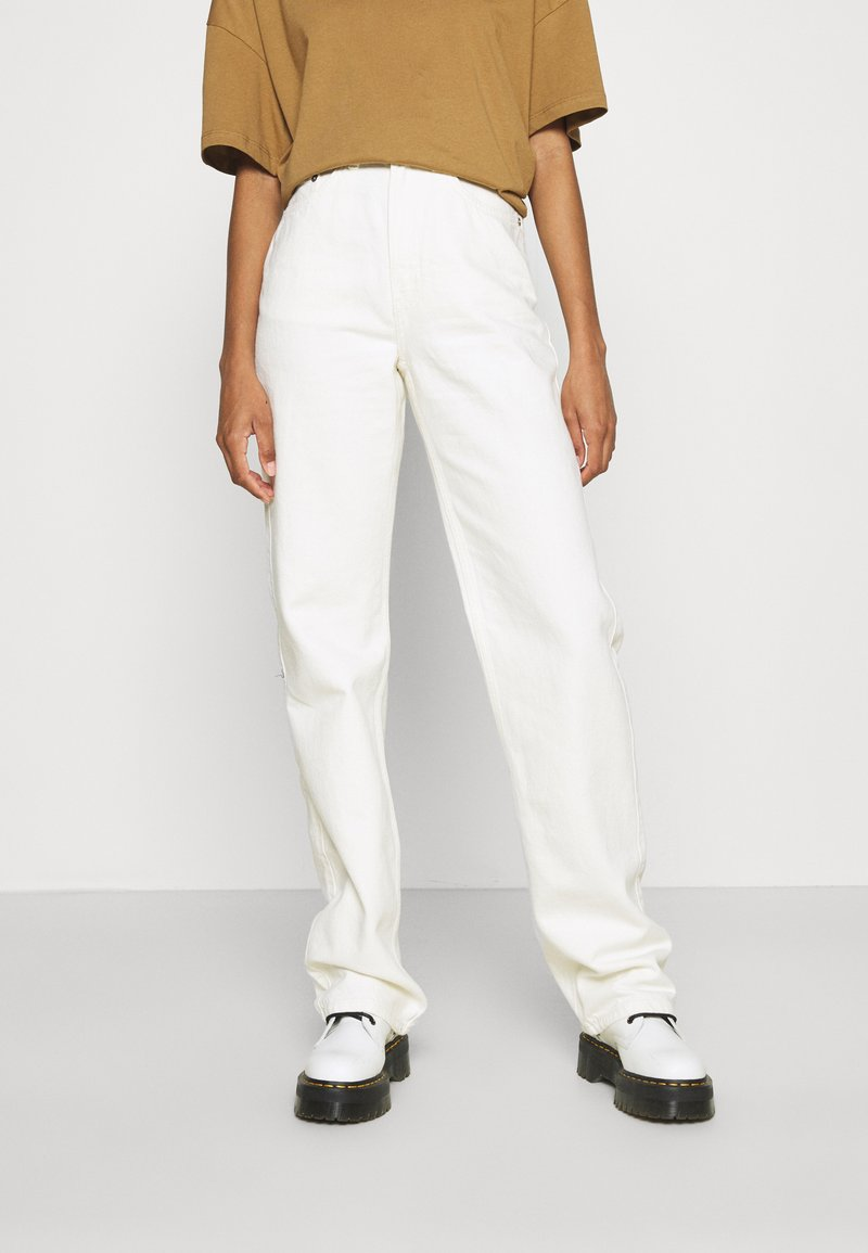 Weekday - ROWE  - Džíny Relaxed Fit - white