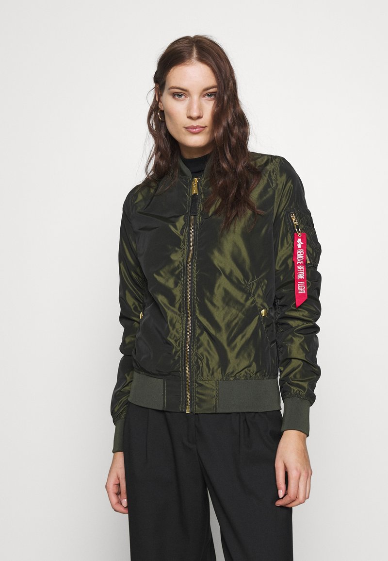 Alpha Industries - IRIDIUM - Bomberjacks - dark green