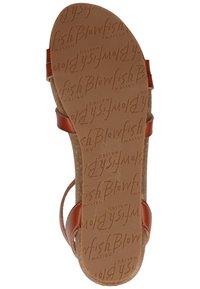 Blowfish Malibu - Ankle cuff sandals - scotch - 4