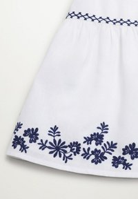 Mango - BRODÉE - A-line skirt - blanc cassé - 2