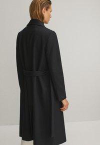 Massimo Dutti - Płaszcz wełniany /Płaszcz klasyczny - black - 2