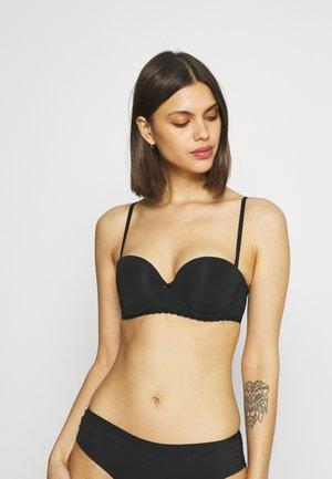 REAL HAPPY STRAPLESS BASIC - Multiway / Strapless bra - true black