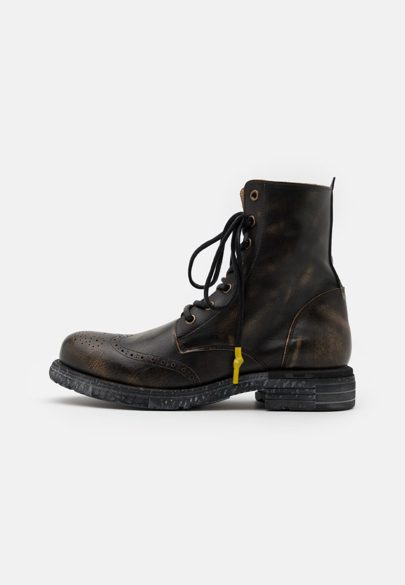 Yellow Cab - UTAH - Lace-up ankle boots - brown