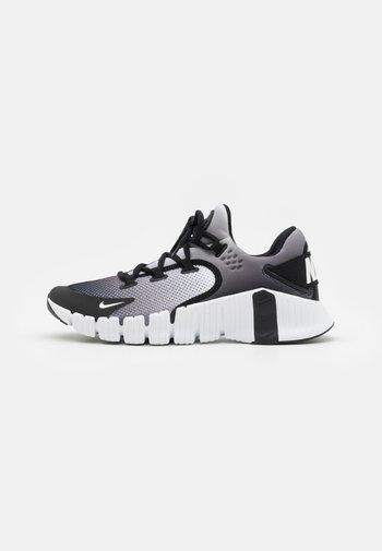 FREE METCON 4 UNISEX - Chaussures d'entraînement et de fitness - white/black