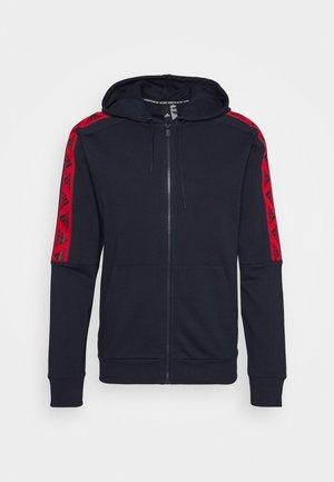 Zip-up hoodie - legend ink/scarlet