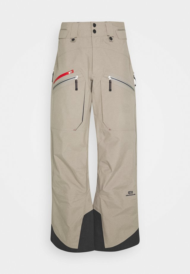 MEN'S BACKSIDE PANTS - Pantaloni da neve - tan