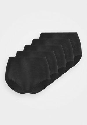 5 PACK - Kalhotky - black