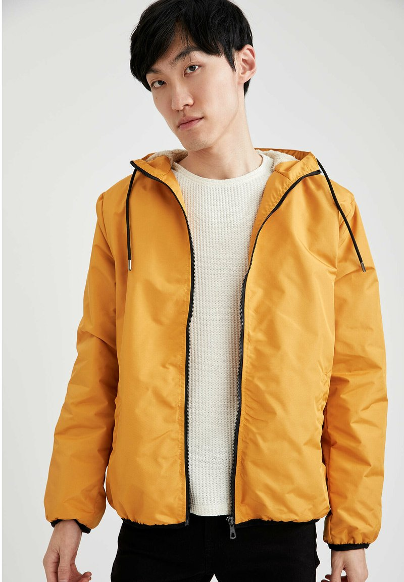 DeFacto - Light jacket - yellow