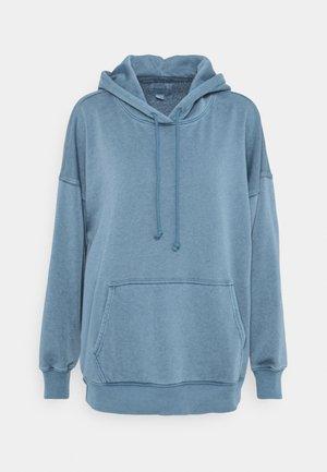 HOODIE SOLID - Sweatshirt - blue