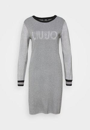 ABITO MAGLIA - Jumper dress - ghiaia lux