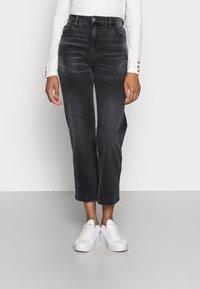 Opus - LANI AUTHENTIC - Straight leg jeans - authentic grey - 0