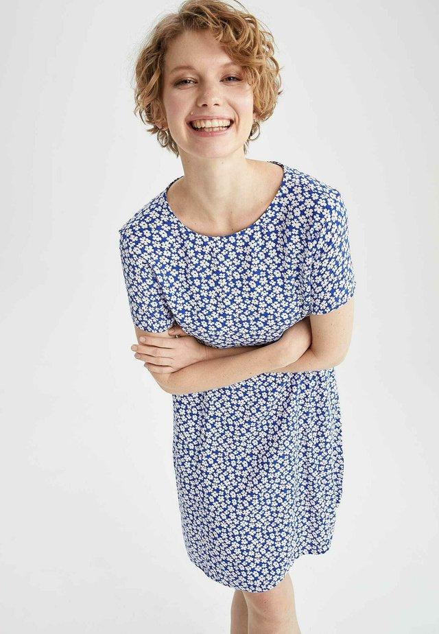 SUMMER - Korte jurk - blue