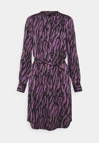 TREE DRESS - Shirt dress - purple